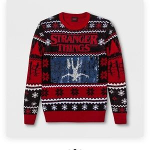 NWT stranger things sweater